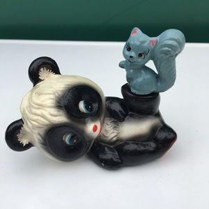 1960's Panda Figurine